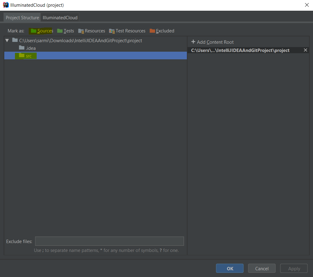 Create a Salesforce project with IntelliJ IDEA, Illuminated